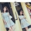 เสื้อผ้าแฟชั่นเกาหลี Fleur lace panel dress Odee&Cutie Daily Fashion 2017 thumbnail 3
