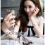 🎀 Lady Ribbon's Made 🎀 Lady Rika Feminine Pearl Embellished White Lace Dress thumbnail 3