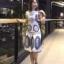 เสื้อผ้าแฟชั่นเกาหลี Normal Ally Present D.S.Y new collection dress thumbnail 4