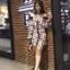 เสื้อผ้าแฟชั่นเกาหลี New Arrival … Don't Miss Normal Ally Present K.S new collection 2018 playsuit thumbnail 3