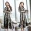 เสื้อผ้าแฟชั่นเกาหลี 2Sister Made, Korea Vintage Eastern Lady Dress thumbnail 4