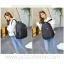 Laptop Notebook Backpack, Waterproof, Men & Women, Color Line, Classic Black thumbnail 12
