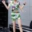 เสื้อผ้าแฟชั่นเกาหลี Seoul Secret Say's...Chic Chic Leaflet Sport Set thumbnail 5