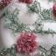 เสื้อผ้าแฟชั่นเกาหลี Lady Ribbon's Made Lady Erin Off-Shoulder Pink Flower Embroidered Tulle Mini Dress thumbnail 12
