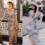 เสื้อผ้าแฟชั่นเกาหลี Lady Ribbon Thailand Normal Ally Present Exhibition.S summer dress thumbnail 3