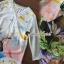 Seoul Secret Say's... Deerly Sakura Print Dofty Shiffon Dress thumbnail 3
