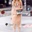 เสื้อผ้าแฟชั่นเกาหลี Seoul Secret Say's... Oranginaa Latte Leaf Lace Chic Set thumbnail 4