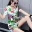 เสื้อผ้าแฟชั่นเกาหลี Seoul Secret Say's...Chic Chic Leaflet Sport Set thumbnail 6