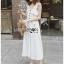 เสื้อผ้าแฟชั่นเกาหลี Lady Ribbon's Made Lady Emma Traveler Minimal Cotton Jumpsuit thumbnail 2