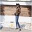เสื้อผ้าแฟชั่นเกาหลี สินค้าพร้อมส่งงานไซส์ใหญ่ the best comfortable jeans by Hong kong thumbnail 7