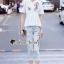 เสื้อผ้าแฟชั่นเกาหลี Seoul Secret Say's... Chic Ivy Rosy Stick Set thumbnail 3