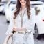 เสื้อผ้าแฟชั่นเกาหลี Seoul Secret Say's .... Ivory Summer Embroider ShirtDress thumbnail 3