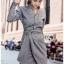 เสื้อผ้าแฟชั่นเกาหลี Lady Ribbon's Made Lady Smart Chic Twist Ribbon Shirt Dress thumbnail 3