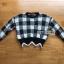 เสื้อผ้าแฟชั่นเกาหลี Lady Ribbon's Made Lady Cecil Tartan Weaves Knit Sweater thumbnail 12