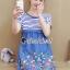 Seoul Secret Say's... Gene Streak Lace Colorful Dress thumbnail 3