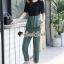 เสื้อผ้าแฟชั่นเกาหลี Seoul Secret Say's... Girly Worky Smart Stripe Set thumbnail 2
