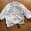 เสื้อผ้าแฟชั่นเกาหลี Lady Ribbon's Made Yves Classic Sweet White Lace Blouse thumbnail 4