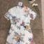 เสื้อผ้าแฟชั่นเกาหลี Normal Ally Present Spring print and 3D flower playsuit by K.S brand thumbnail 8