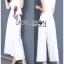 เสื้อผ้าแฟชั่นเกาหลี Lady Ribbon's Made Lady Rachel Smart Casual White Top with ColorfulRibbon and Side-Pleated Pants Set thumbnail 2