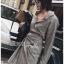 เสื้อผ้าแฟชั่นเกาหลี Lady Ribbon's Made Lady Smart Chic Twist Ribbon Shirt Dress thumbnail 11