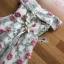 เสื้อผ้าแฟชั่นเกาหลี Lady Ribbon's Made Lady Erin Off-Shoulder Pink Flower Embroidered Tulle Mini Dress thumbnail 13