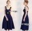 เสื้อผ้าแฟชั่นเกาหลี Lady Ribbon's Made Rosie Sexy Chic Cut-Out Electric Blue Dress thumbnail 1