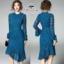 เสื้อผ้าแฟชั่นเกาหลี Valentino lace panel dressOdee&Cutie Daily Fashion 2017- thumbnail 5
