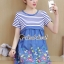 Seoul Secret Say's... Gene Streak Lace Colorful Dress thumbnail 2