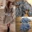เสื้อผ้าแฟชั่นเกาหลี Lady Ribbon's Made Lady Michell Korean Style Checked Cotton Ruffle Dress thumbnail 4