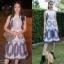 เสื้อผ้าแฟชั่นเกาหลี Normal Ally Present D.S.Y new collection dress thumbnail 2