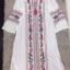 เสื้อผ้าแฟชั่นเกาหลี Normal Ally Present Bohemian Embroidered maxi dress thumbnail 7