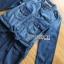 เสื้อผ้าแฟชั่นเกาหลี Lady Ribbon's Made Lady Sarah Street Chic Denim Shirt Dress with Ribbon-Belt thumbnail 8
