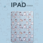 เคสการ์ตูนหลังใส Slim Smart Cover (เคส iPad mini 4)
