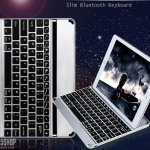 (iPad mini 1/2/3) Keyboard Aluminium Bluetooth (คีย์บอร์ด บลูทูธ iPad mini 1/2/3)