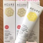 ล็อตใหม่ Package ใหม่มาแล้วจ้า สครับเนื้อแน่นสูตรออร์แกนิคเข้มข้นจาก⭐️ Acure ด้วยส่วนผสมของ argan stem cell + chlorella growth factor ช่วยทำความสะอาดผิวหน้าพร้อมกับกระตุ้นการสร้างคอลลาเจนและเซลล์ผิวใหม่ เพื่อผิวหน้าเรียบเนียนขาวใสจ้าา การันตีด้วยรางวัล⭐️B