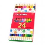 สีไม้ COLLEEN 2 หัว 24 สี