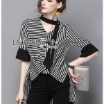 Lady Poppy Minimal Chic Striped
