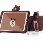 เคสซิลิโคนหมี Brown - เคสไอแพดโปร 9.7