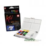 SAKURA Koi Water Colors Pocket Field Sketch Box