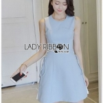 Baby Blue Lady Ribbon Dress