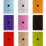 เคสซิลิโคนใสสีต่างๆ (เคส iPad mini 4)