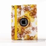 Centuryzx ลายดอกไม้ หมุนได้ 360 องศา (เคส iPad Air 2)