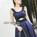 Electric Lady Ribbon Blue Dress