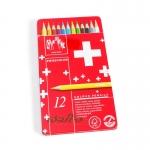 Caran d'Ache Swisscolor 12 สี