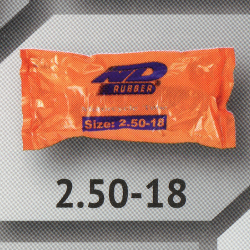 2.50-18 TR4 ยางใน ยี่ห้อ ND RUBBER (เทียบเท่า 70/90-18)