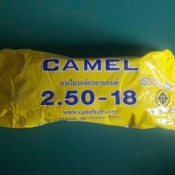 2.50-18 TR4 ยางใน ยี่ห้อ CAMEL (เทียบเท่า 70/90-18)