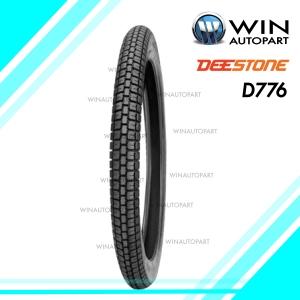 2.50-19 รุ่น D776 ยี่ห้อ DEESTONE ยางมอเตอร์ไซค์ 4PR T/T