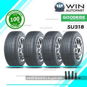ยางรถ SUV / กระบะ ขนาด 265/60R18 รุ่น SU318 ยี่ห้อ GOODRIDE / CN 114VXL ( 1 ชุด : 4 เส้น )