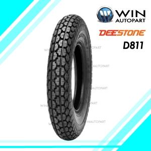 3.50-8 รุ่น D811 ยี่ห้อ DEESTONE ยางมอเตอร์ไซค์ 4PR T/T