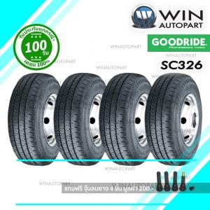 ยางรถกระบะ ขนาด 215/70R16 รุ่น SC326 ยี่ห้อ GOODRIDE / TH 6PR-108/106T ( 1 ชุด : 4 เส้น )